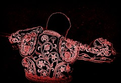 decepción (aficion2012) Tags: francia corrida bullfight bull toro torero toreador toreo tauromachie tauromaquia taureau tauromachy matador emilio de justo textured picasa red france dark duotone black chaquetilla trajedeluces traje luces