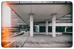 BÜRO (michael_hamburg69) Tags: hamburg germany deutschland überseering35 bürohaus office building architecture architektur 1974 bürostadt citynord honka dergoldenehandschuh goldenglove movie film fatihakin filmset filmlocation analogfilter nikcollection