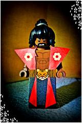 Who's da mastah (LegoKlyph) Tags: lego custom brick block build sho nuff movie dragon last martial arts shogun classic glow lee