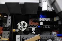15 - Mechanism (KirtonBricks) Tags: millenium millennium falcon lego mod moc 75192 custom star wars build building bricks gun technic gear