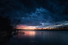 Couchant sur la Saône (Stéphane Sélo Photographies) Tags: ain canon1740f4 canon6dmarkii france trévoux aqua coucherdesoleil eau landscape lumière paysage reflet rivière sunset water