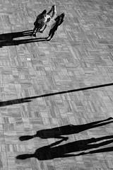 (JarHTC) Tags: fujifilm xe2 monochrome bw outdoor street shadows above relationship