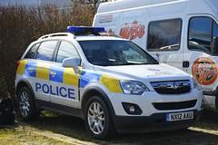 NX12 AAU (S11 AUN) Tags: cleveland police vauxhall antara rural patrol vehicle irv incident response 999 emergency nx12aau