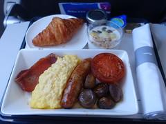 201903036 BA906 LHR-FRA breakfast (taigatrommelchen) Tags: 20190313 flyingmeals airplane inflight meal food breakfast business baw britishairways ba906 a319100 geuph lhrfra