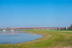 RXP 1251+Sdz | Deventer (Babo Sorany) Tags: dbm db museum lok lokomotive elok 1251 rxp railexperts rxp1251 sonderzug sdz isgo spoorbrug deventer water