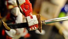 DSCF8056 (bensalzberg) Tags: gunpla gundam astray redframe bandai macro robot