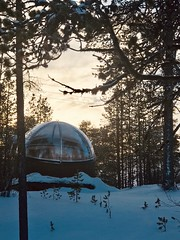 Nellim Wilderness Hotel, Finland. February 2019. (darrenboyj) Tags: holiday vacation winter cold ice frozen hotel snow finland nellimwildernesshotel nellim aurorabubble bubble aurora