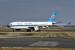 China Southern Airbus A330-200 (Matthisphotography) Tags: airbus a330 a332 330200 a330200 paris cdg charles de gaule airport airplane airplanes air plane planes aircraft avion engines réacteurs ailes cockpit pilot pilots ramp taxi taxiway taxiing take off takeoff wheels china southern chinese