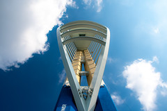 Spinnaker Tower (S2TDD) Tags: clouds sky blue tower portsmouth quays gunwharf