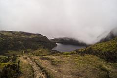 Trail back home (kgerbel) Tags: brouillard brume camino chemin cloud fog haze lac lago laguna lake landscape mist montagne montana mountain neblina niebla nuage nube paisaje path paysage sendero sierra track way