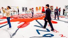 Die Irrfahrten des Meese (HeinzDS) Tags: pinakothek meese jonathan artist german irrfahrten art painter münchen munich exhibition ausstellung