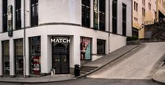 Match (RWYoung Images) Tags: rwyoung olympus em1mk11 alesund norway deepnorth city shop building architecture urban