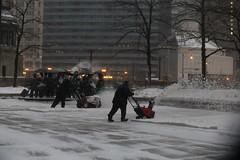 Chicago Winter Storm, January 19, 2019 (Symbiosis) Tags: snow chicago chicagoil winterinthecity winterinchicago snowstorm skyline peopleinthesnow snowinthecity