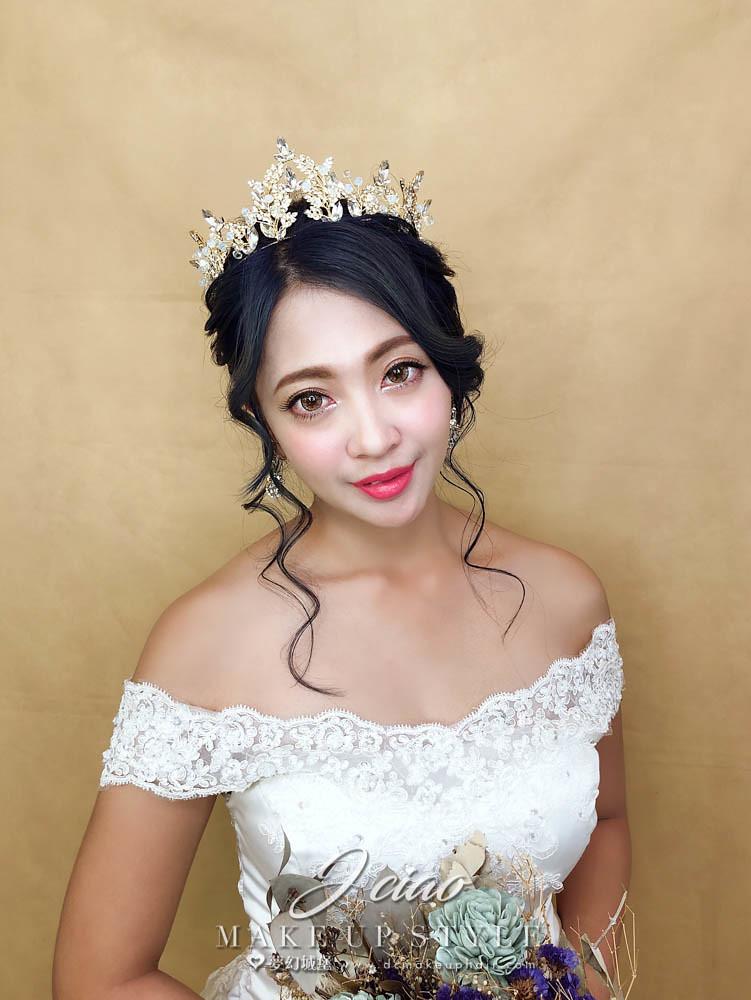 【新秘婕喬】新娘造型創作 / 皇冠公主造型