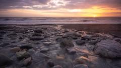 Clarksburn (jillyspoon) Tags: explore sigma1020mm sony water sea coastal leefilters stones rocks dumfriesandgalloway wigtownshire scotland stream burn coast sunset