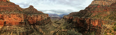 Cloudy Morning Over Bright Angel Trail (Sim Br) Tags: arizona brightangeltrail grandcanyonnationalpark hiking landscape nature panorama valley