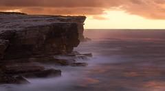 One (Emerald Imaging Photography) Tags: potterpoint kurnell capesolander sydney cronulla newsouthwales nsw australia australian australianlandscape seascape sunrise sunset waves longexposure cliffs rocks man lonely alone