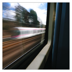 Whoosh! (Gingydadtog) Tags: passengertrain train tram westmidlands westmidlandsmetro