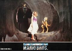 Super Mario Bors Press Release Photos 11 (gamescanner) Tags: super mario bros press release photos dennis hopper john leguizamo bon hoskins goomba yoshi lightmotive allied filmmakers 1993
