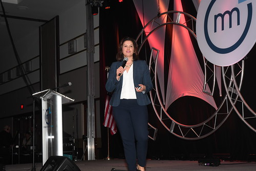 CapCon 2019 Governor Whitmer Speaking at by Michigan Municipal League (MML), on Flickr