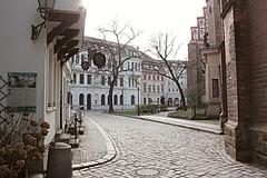 Nikolaiviertel (gondolingirltravels) Tags: berlin germany city holiday deutschland europe history eu citybreak nikolaiviertel architecture