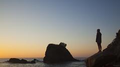 New Beginning (magdaolson) Tags: mazunte oaxaca oceano ocean pacifico pacific mexico sunrise woman amanecer mujer mar sea oceanopacifico pacificocean