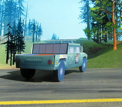 The Patriot Hummer Military Vehicle Paper Model And Tommy Vercetti Paper Figure From PS2 Grand Theft Auto Vice City Game : Diorama GTA San Andreas Game Scenery - 12 Of 14 (Kelvin64) Tags: the patriot hummer military vehicle paper model and tommy vercetti figure from ps2 grand theft auto vice city game diorama gta san andreas scenery