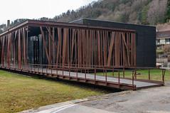 Casino (Salins-les-Bains, France)-108 (MMARCZYK) Tags: france bourgogne franche comté salins les bains architecture jura 39 malcotti roussey casino corten rouillé acier