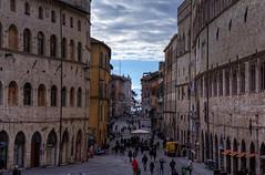 Perugia, Corso Vannucci (Roberto Marinoni) Tags: perugia umbria bellitalia corso corsovannucci palazzodeipriori