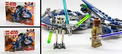 LEGO Star Wars : General Grievous' Combat Speeder (75199) (docteurTonTon) Tags: lego star wars general grievous combat speeder 75199 docteur tonton white background toy