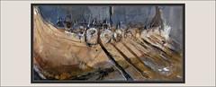 NAVEGANTES-BARCO-VIKINGO-PINTURA-DETALLES-ARTE-BARCOS-VIKINGOS-REMEROS-ESCUDOS-GUERREROS-NAVEGAR-MAR-NORTE-PINTURAS-PINTOR-ERNEST DESCALS (Ernest Descals) Tags: navegantes navegar navegacion barco barcos ships boat embarcaciones vikingas vikingos vikingo viking vikings nordico nordicos mar mares ocuros aventuras aventureros remeros remos escudos lanzas guerreros men hombre pueblos naciones escandinavia escandinavos man people historia personajes history historicos emigraciones europa europeas tipicos warriors detalles detail fragment fragmentos marineros paint pictures plastica pintura coleccion art arte artwork pinturas quadres cuadros cuadro remar pintor pintores pintors military plasticos artistas ernestdescals pintar pintando painters painter painting paintings misticos mistica