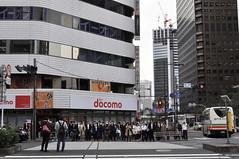 The morning rush (DameBoudicca) Tags: tokyo tokio 東京 japan nippon nihon 日本 japón japon giappone shiba shibadaimon 芝大門 streetshot streetphotography street gata strase calle rue strada 道