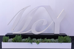 Weißes Logo von MCY (Monte Carlo Yachts) auf schwarzem Sockel mit Kakteen als Dekoration (verchmarco) Tags: sailing ships messe boat düsseldorf 2019 boot yacht modern architecture diearchitektur noperson keineperson nature natur desktop technology technologie sky himmel house haus building gebäude business geschäft design contemporary zeitgenössisch outdoors drausen expression ausdruck inside innerhalb room zimmer illustration urban städtisch construction konstruktion landscape landschaft vowel españa santa owl shop coth5 outside fence cielo day