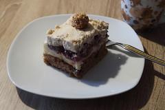 Kirschschnitte (multipel_bleiben) Tags: essen zugastbeifreunden kuchen obst