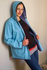 Blue Friesennerz (46 pics) (sexyrainwear_dot_online) Tags: raincoat rainjacket rainwear friesennerz regenmantel pvc