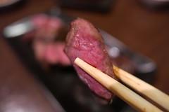 熟成肉のイチボ (HAMACHI!) Tags: tokyo 2019 japan food foodporn foodie foodmacro meat beef 肉山 nikuyama kichijoji restaurant diningrestaurant lumix lumixdclx100m2 dclx100m2