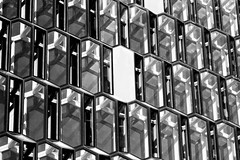 Harpa building detail, Reykjavík 2 (Jano_Calvo) Tags: iceland reykiavik balckandwhite harpa building architecture glass front basaltic sony a6000 ilce mirrorless 1650mm alpha