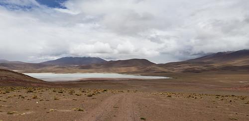 The Stinking Lake (Laguna Hedionda) at 4,121m. (13,520.34 ft.), Bolivian Highlands (Altiplanos Boliviano), Potosí, Bolivia.
