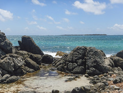 2017-04-27_10-48-47 Water on the Rocks (canavart) Tags: sxm stmartin stmaarten fwi orientbeach orientbay beach ocean waves tropical caribbean island