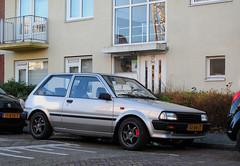 1988 Toyota Starlet 1.0 XL (rvandermaar) Tags: 1988 toyota starlet 10 xl toyotastarlet ep70 p70 p7 sidecode4 sx84jt