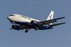Boeing 737-530 YR-AME Blue Air (msd_aviation) Tags: boeing boeing737 b737 b737500 boeing737500 blueair bcn lebl barcelona elprat airport joseptarradellas aviation aviationpics aviationfans aviationlovers aviationphotos aviationgeeks spotting spotters planespotting planespotters airplanes