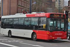 National Express West Midlands Scania OmniLink 1825 (BV57 XGR) (Bordesley) 'Jadwiga-Irena' (john-s-91) Tags: nationalexpresswestmidlands scaniaomnilink 1825 bv57xgr birmingham route17
