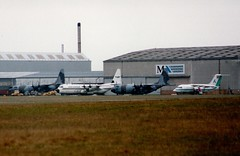 TR-LBV (IndiaEcho) Tags: trlbv lockheed l10030 hercules air gabon cambridge teversham aircraft aeroplane aviation airport airfield