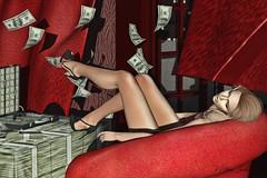Money (Milena Inaka ♥) Tags: mosquitos shoes backdrops money lop secondlife blogsl slblog