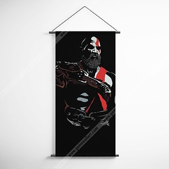 God Of War 40 Kratos Decorative Banner Flag for Gamers (gamewallart) Tags: background banner billboard blank business concept concrete design empty gallery marketing mock mockup poster template up wall vertical canvas white blue hanging clear display media sign commercial publicity board advertising space message wood texture textured material wallpaper abstract grunge pattern nobody panel structure surface textur print row ad interior