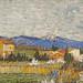 Pêchers en fleurs (détail) de Vincent Van Gogh (Fondation Vuitton, Paris)