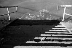 Flooded Stairs (hermann.kl) Tags: köln cologne rhein rhine fluss hochwasser stufen treppe