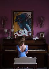 Peter Max (trois petits oiseaux) Tags: kids childhood piano music petermax artist art