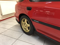 IMG_0340 (deeelux) Tags: red subaru impreza wagon 2000 turbo uk spec 1997 r981gfw