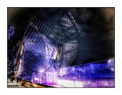 La création est une invitation au  voyage.... (Jean-Louis DUMAS) Tags: abstract abstrait abstraction architecture architect architecte architectural architecturale bâtiment building reflets reflecting reflections ciel sky blue paris